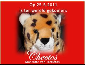 Geboortekaartje Cheetos